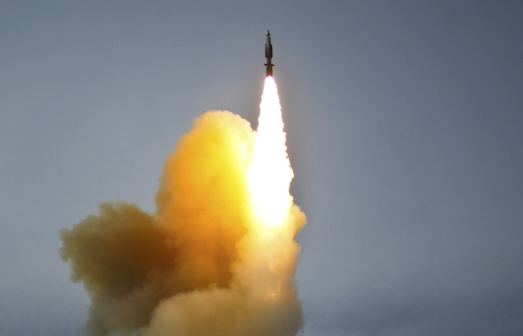 An interceptor missile launch (archive)