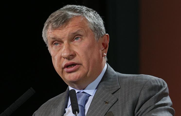 Igor Sechin, CEO of Rosneft