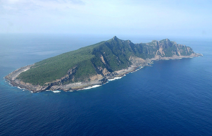 Uotsuri Island, one of the disputed Senkaku islands