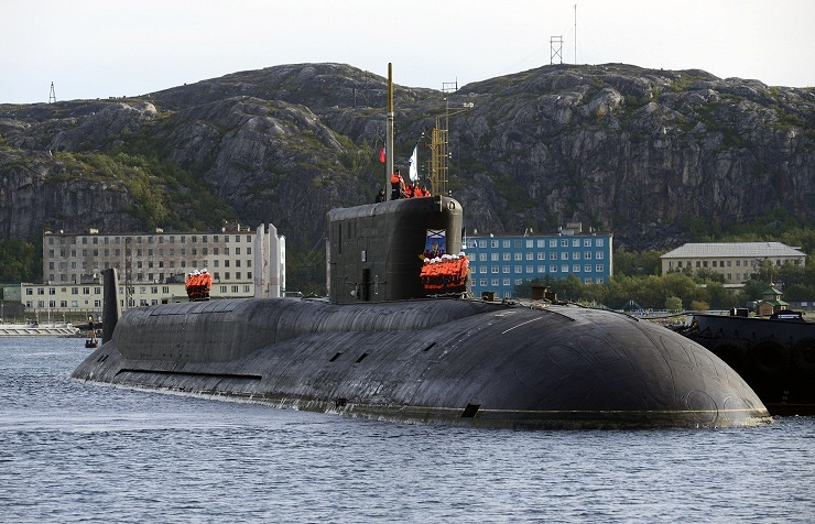Yuri Dolgoruky Borei-class nuclear submarine
