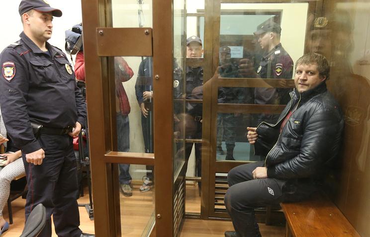 Alexander Emelianenko during trial