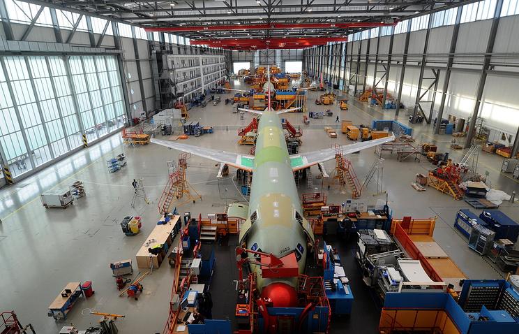 Airbus Factory in Hamburg-Finkenwerder, Germany