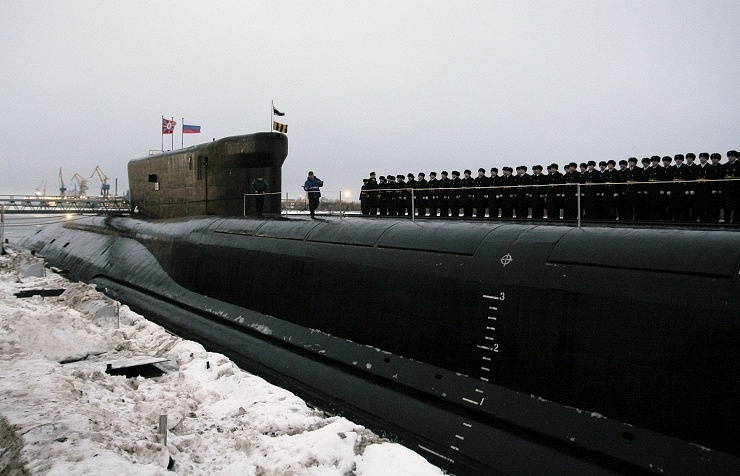 Alexander Nevsky strategic nuclear-powered submarine