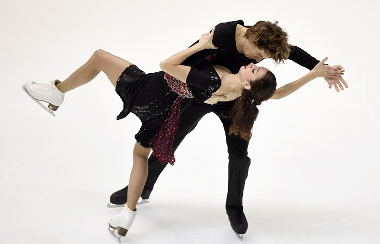 Ksenia Monko and Kirill Khalyavin