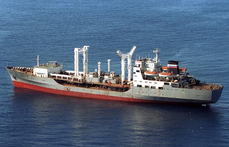 Dubna fuel tanker