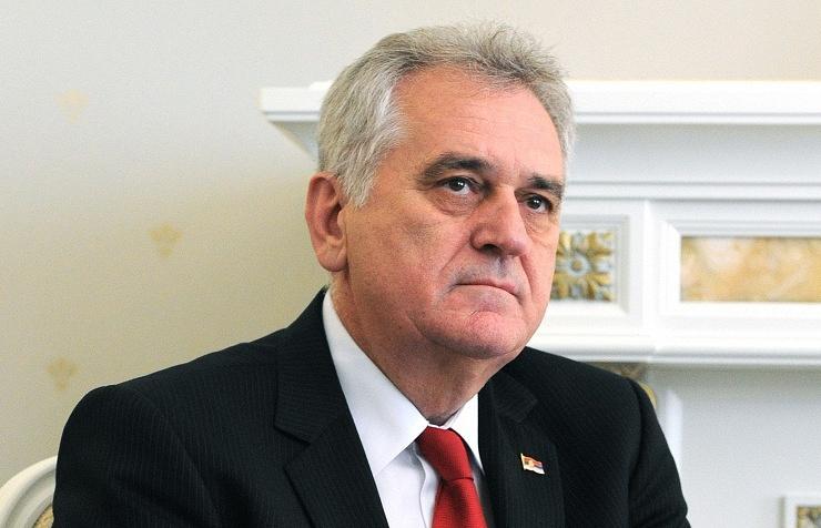Serbian President Tomislav Nicolic