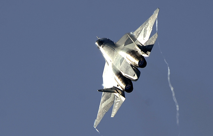 T-50 fighter jet
