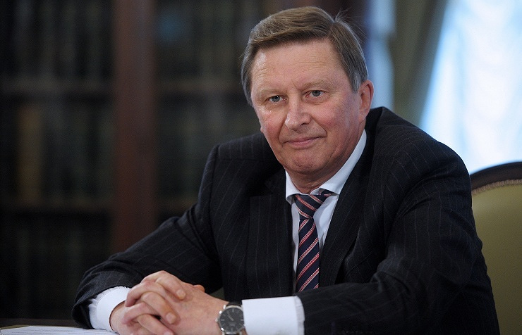 Russia's presidential chief of staff Sergey Ivanov