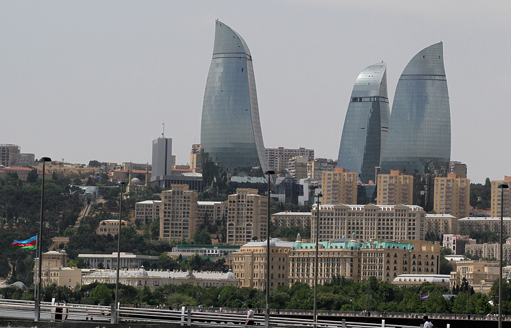 View of Baku, Azerbaijan