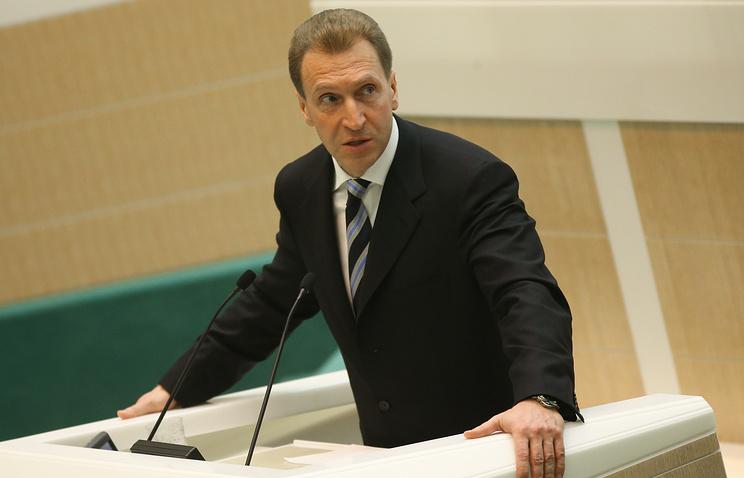 Russian First Vice-Premier Igor Shuvalov
