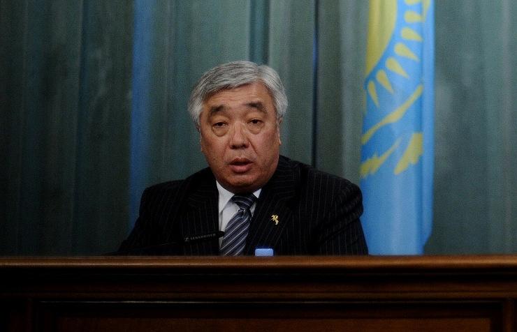 Kazakh Foreign Minister Yerlan Idrisov