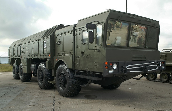 Iskander-M missile complexes