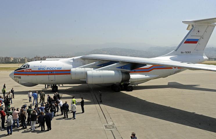 Russian emergency jet (archive)