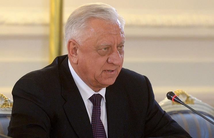Belarusian Prime Minister Mikhail Myasnikovich
