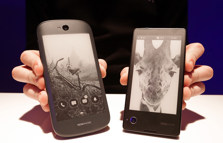 Yota Devices smartphones