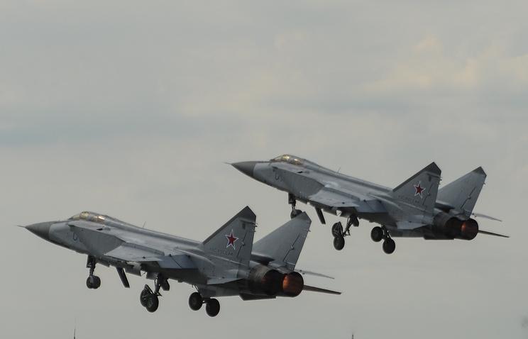 MiG-31 aircraft