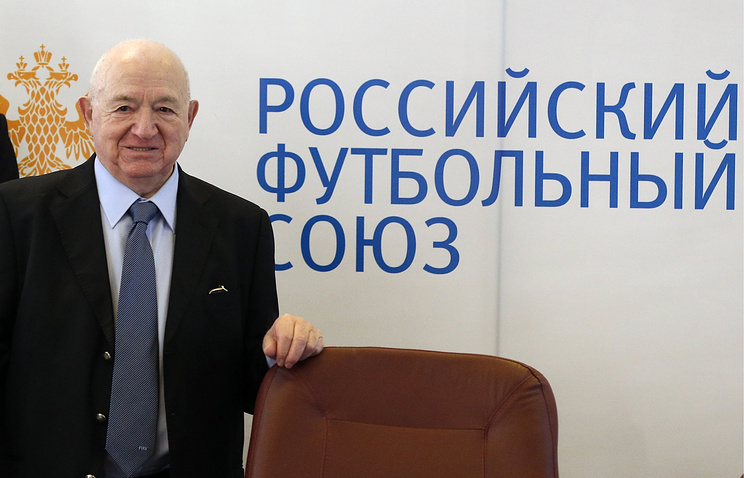 First deputy president of Russia's Football Union Nikita Simonian