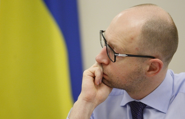 Ukraine's Prime Minister Arseny Yatsenyuk