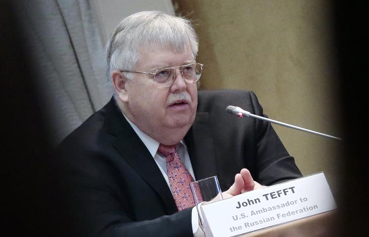 US ambassador John Tefft