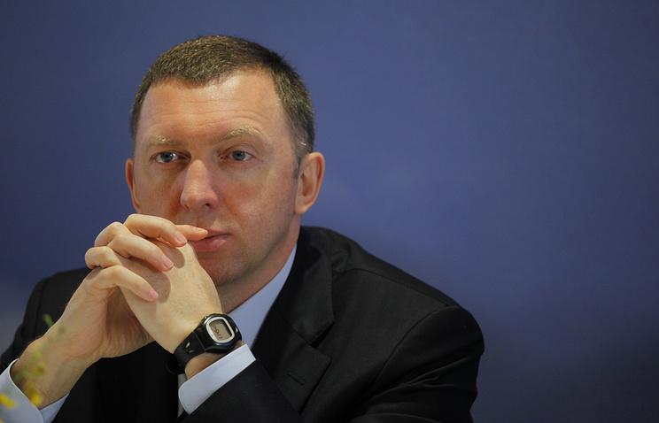 Russian aluminum giant UC Rusal Oleg Deripaska