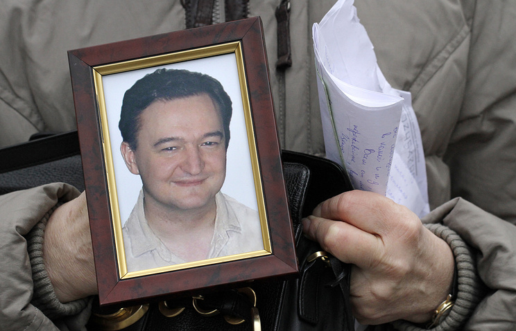 A portrait of Sergey Magnitsky