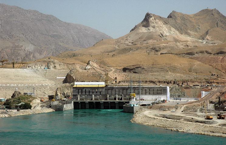 Rogun hydropower plant