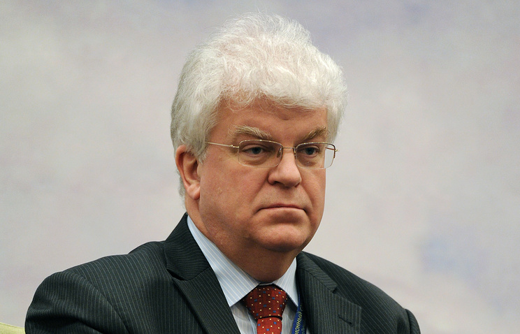 Russia's Ambassador to EU Vladimir Chizhov