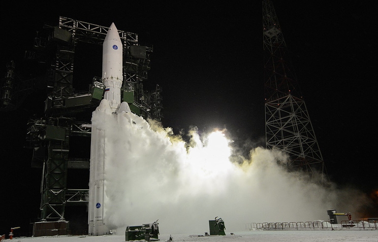 The Angara carrier rocket