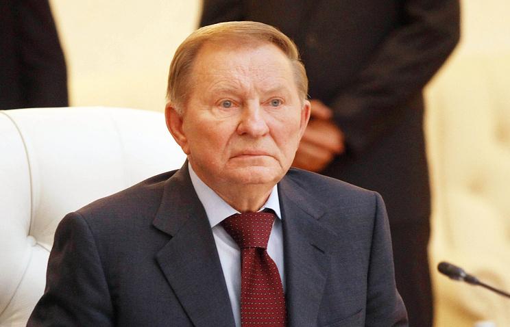 Ukraine's former President Leonid Kuchma