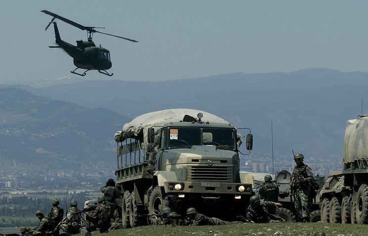 NATO military drills in Georgia, 2009