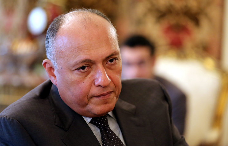 Egyptian Foreign Minister Sameh Shoukry