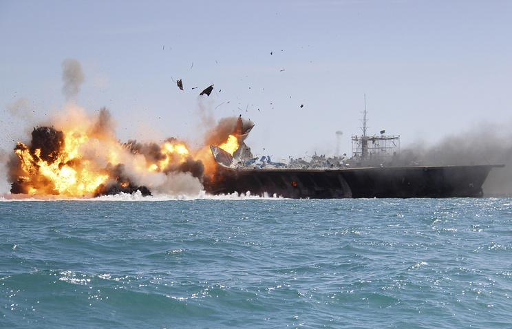 Great Prophet 9 naval drills