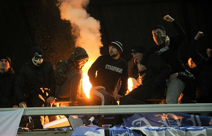 Dinamo Moscow FC fans
