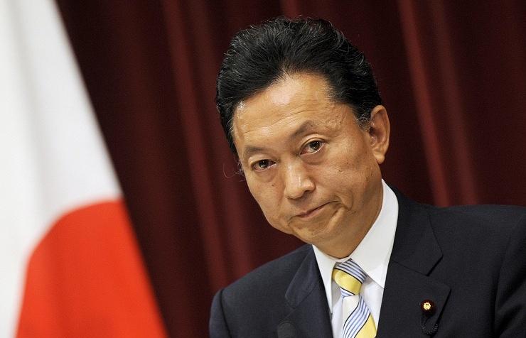 Japan's former Prime Minister Yukio Hatoyama
