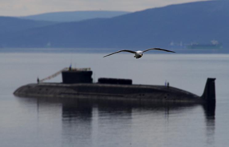 Borei class submarine Yuri Dolgoruky