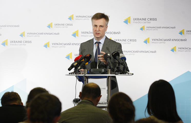 Head of the Security Service of Ukraine (SBU) Valentin Nalivaichenko