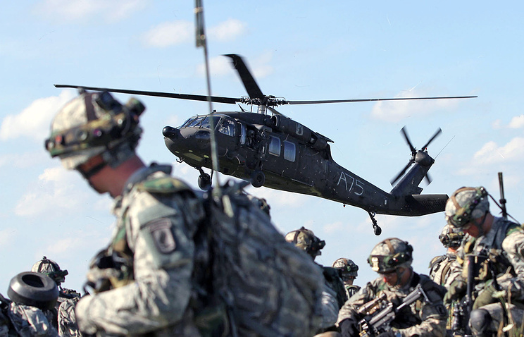 NATO drills in eastern Europe in 2014 (archive)