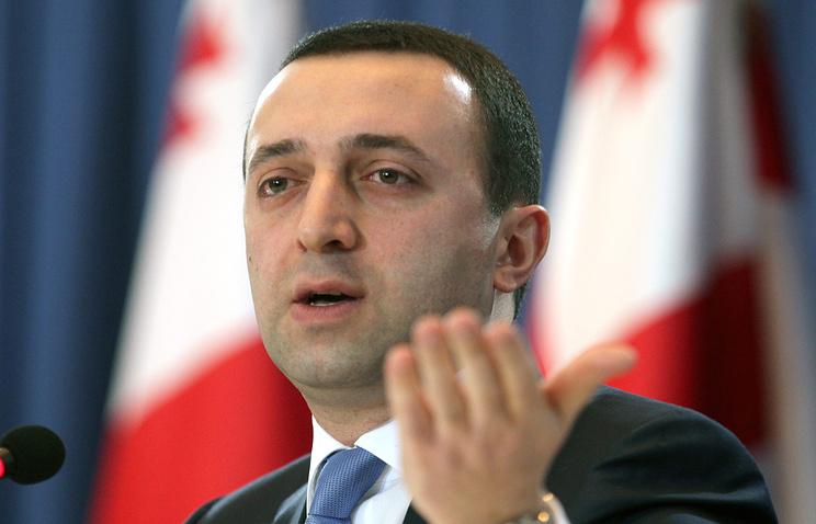 Georgian Prime Minister Irakly Garibashvili