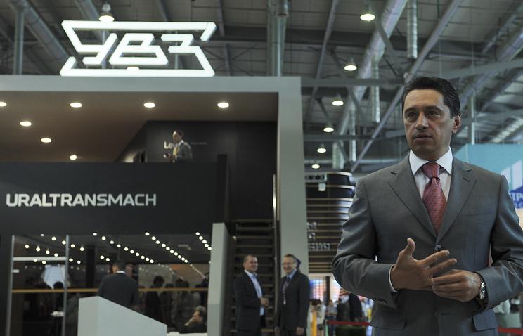 Uralvagonzavod CEO Oleg Sienko