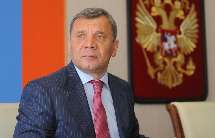 Russian Deputy Defense Minister Yuri Borisov