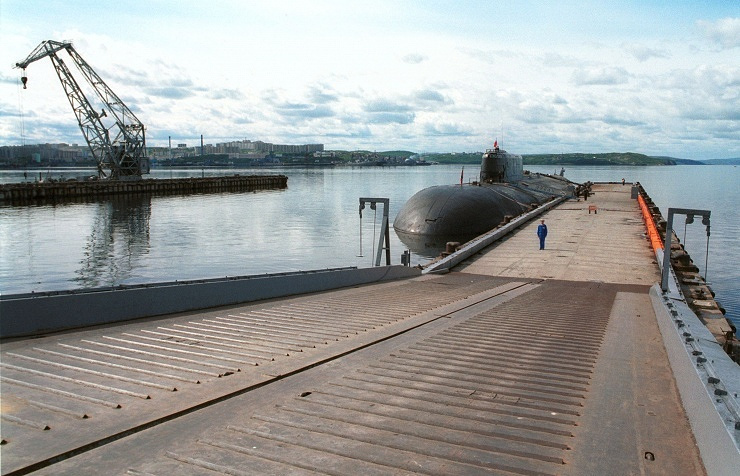 The Oryol (K-266) nuclear submarine