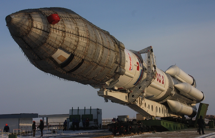 Proton-M rocket carrier