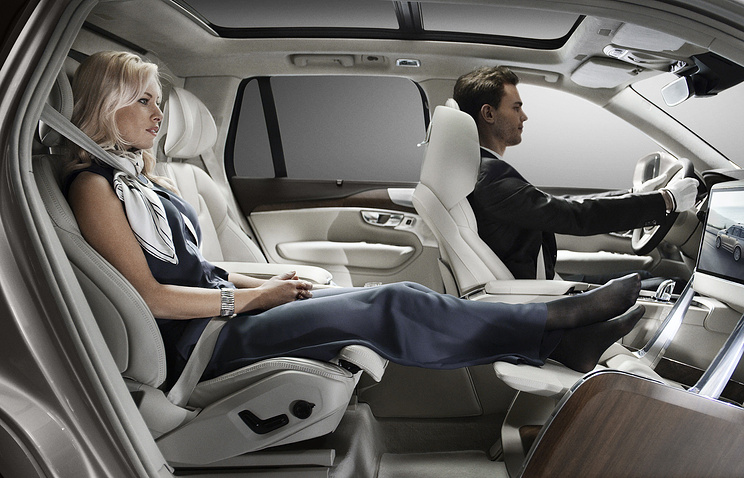 The removal of the front passenger seat allows for full forward vision creating a uniquely spacious environment