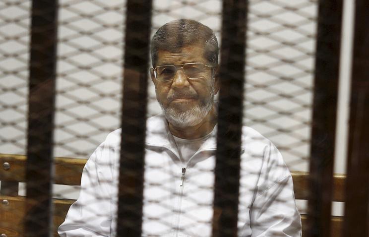 Former Egyptian President Mohamed Morsi