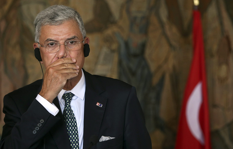 Turkish Minister for EU Affairs Volkan Bozkir