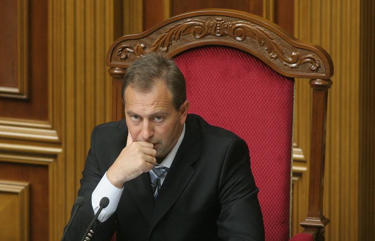 Ukrainian presidential adviser Nikolay Tomenko