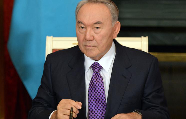 Kazakh leader Nursultan Nazarbayev