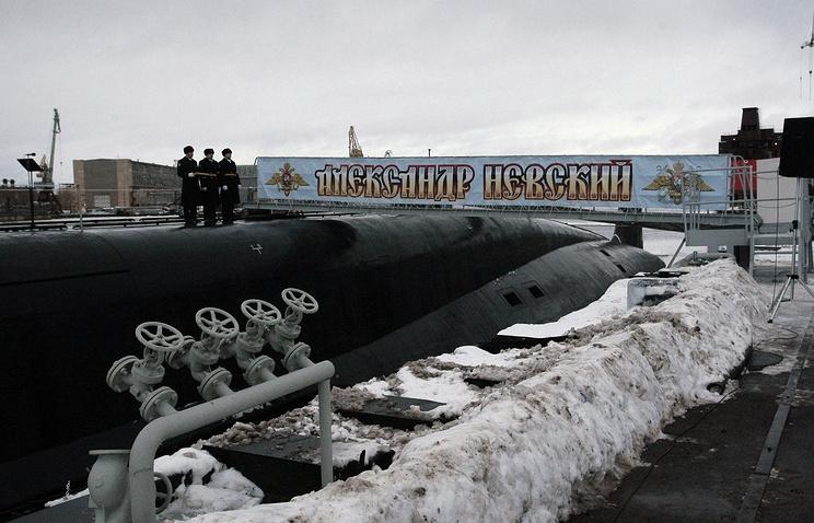 The Alexander Nevsky nuclear sub