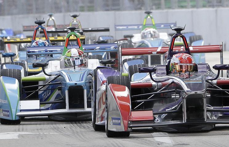 Formula E Miami ePrix auto race