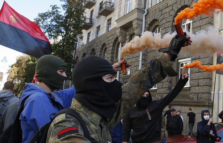 Right Sector activists (archive)